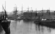 Bristol, The Quay 1887
