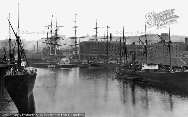 Photo of Bristol, the Quay 1887