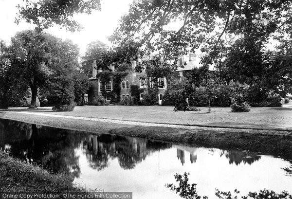 Britford, Moat House 1906