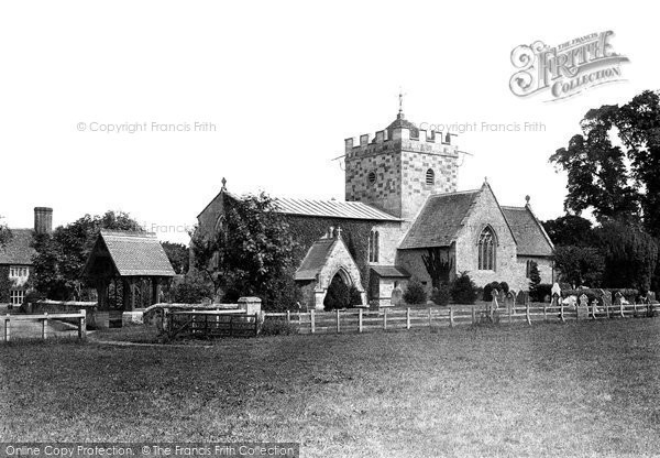 Britford, St Peter's Church 1906