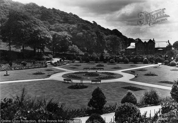 Briton Ferry, Jersey Park Garden c.1950
