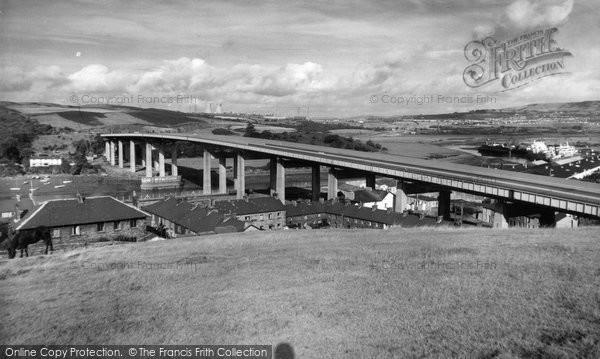 Briton Ferry, The Bridge c.1965