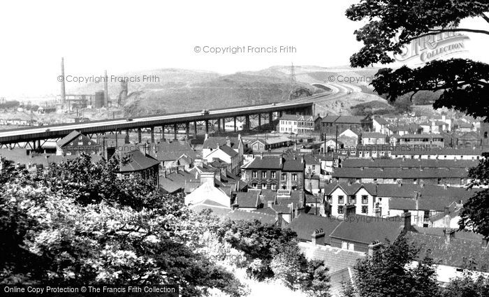 Briton Ferry, The New Bridge 1959