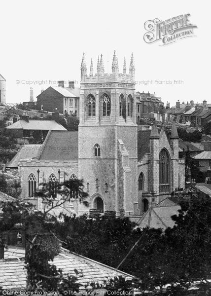 Brixham, All Saints Church 1906