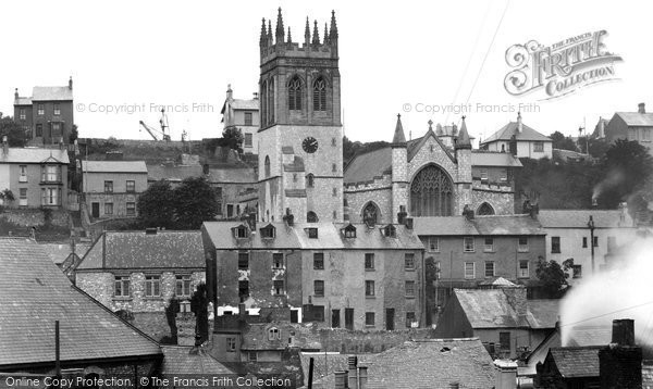 Brixham, All Saints Church 1931