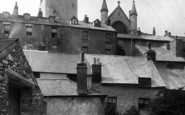 Brixham, All Saints Church From Below1922