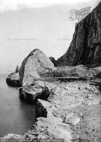 Brixham, Berry Head 1891