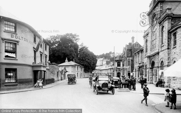 Brixham, Bolton Cross 1922