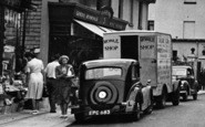 Brixham, Boton Street, Mobile Shop c.1950