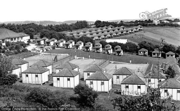 Brixham, Dolphin Holiday Camp c.1950