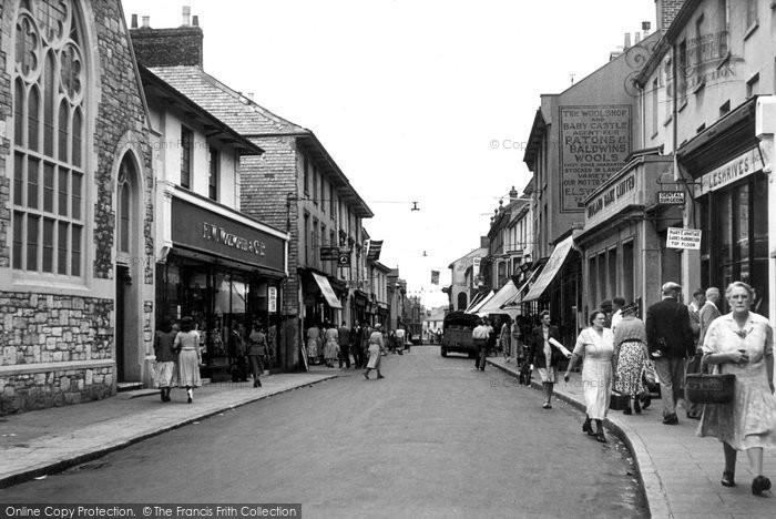 Brixham, Fore Street c.1950