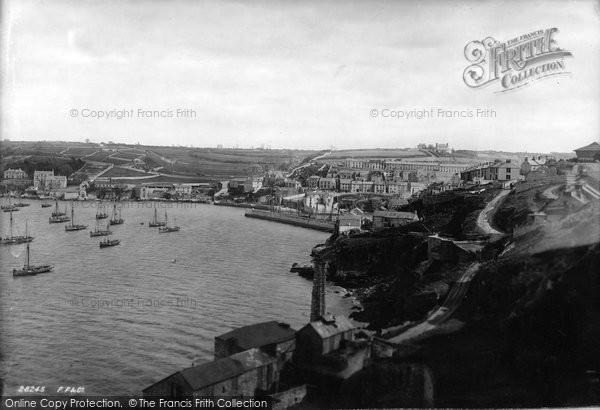 Brixham, General View 1891