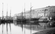 Brixham, Inner Harbour 1889