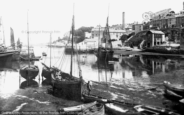 Brixham, Inner Harbour 1906