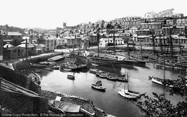 Brixham, Inner Harbour 1918