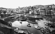 Brixham, Inner Harbour 1918