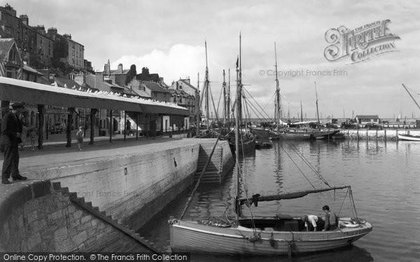 Brixham, Inner Harbour c.1939