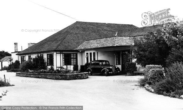 Brixham, Main Entrance, Dolphin Holiday Camp c.1950