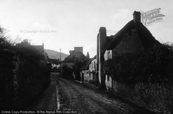 Brixham, Milton Street, Cottages 1905