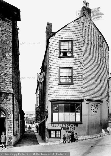 Brixham, New Quay Lane 1922