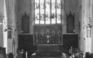 Brixham, Parish Church Interior 1922