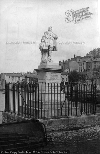 Brixham, Prince Of Orange Monument 1891
