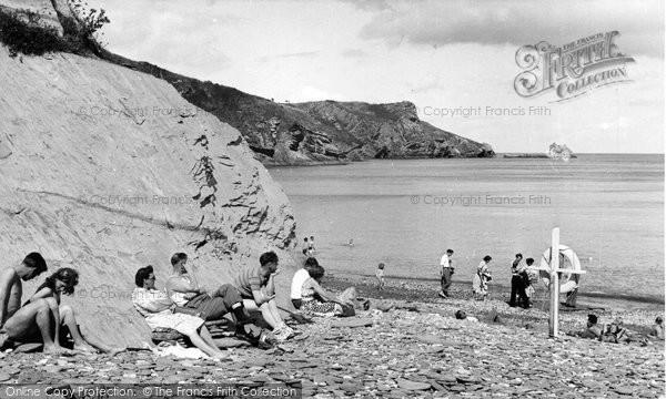 Brixham, St Mary's Bay c.1955