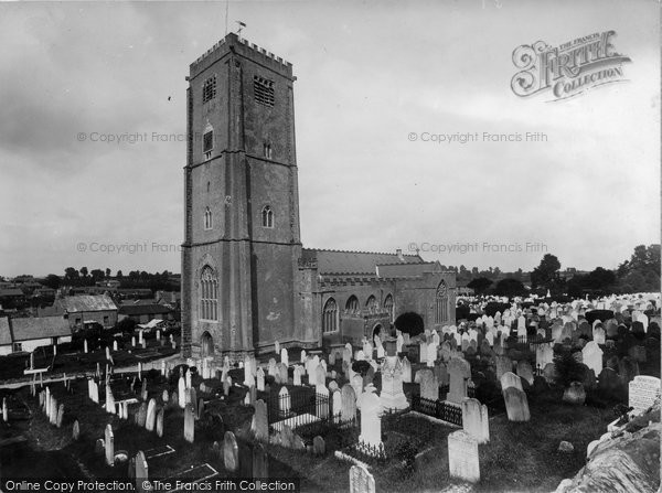 Brixham, St Mary's Church 1922