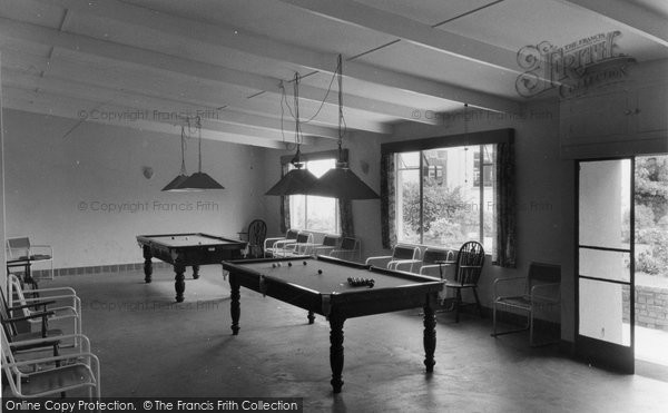 Brixham, The Billiard Room, St Mary's Bay Holiday Camp 1957