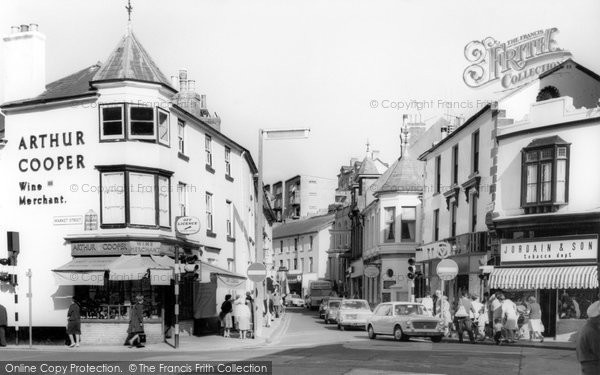 Brixham, The Cross Roads c.1965