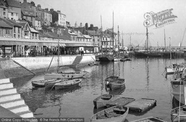 Brixham, The Fish Market 1938