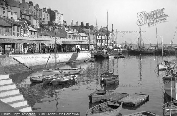 Brixham, The Fish Market c.1939