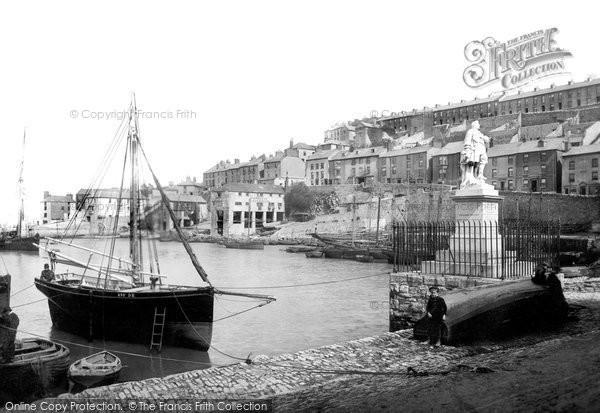 Brixham, The Harbour 1890