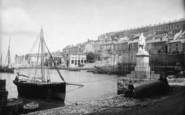 Brixham, The Harbour 1890