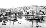 Brixham, The Harbour 1925