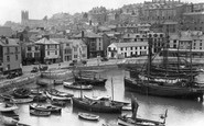 Brixham, The Harbour c.1939