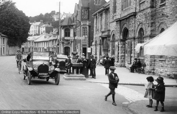 Brixham, Traffic, Bolton Cross 1922