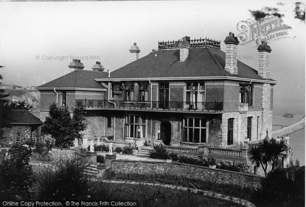 Brixham, Wolborough Hotel c.1950