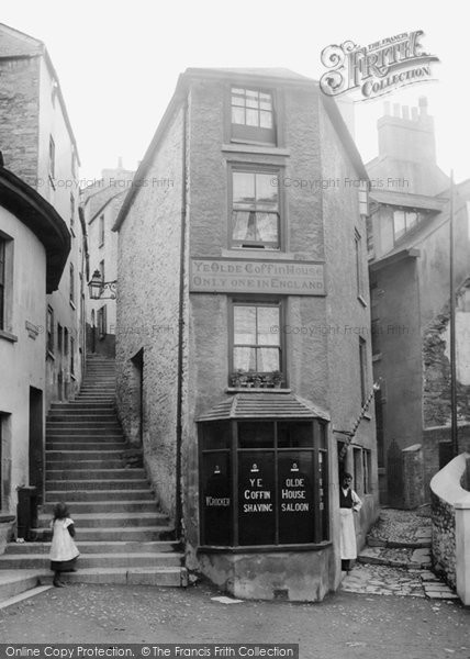 Brixham, Ye Olde Coffin House 1904