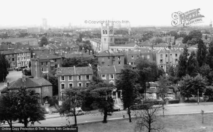 Brixton, Angell Town From The South c.1965