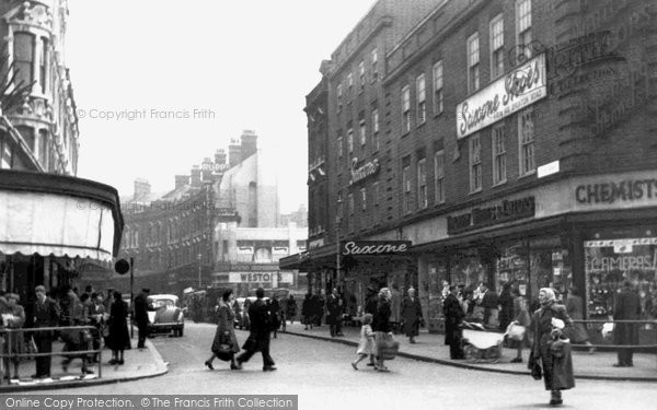 Brixton, Electric Avenue c.1955