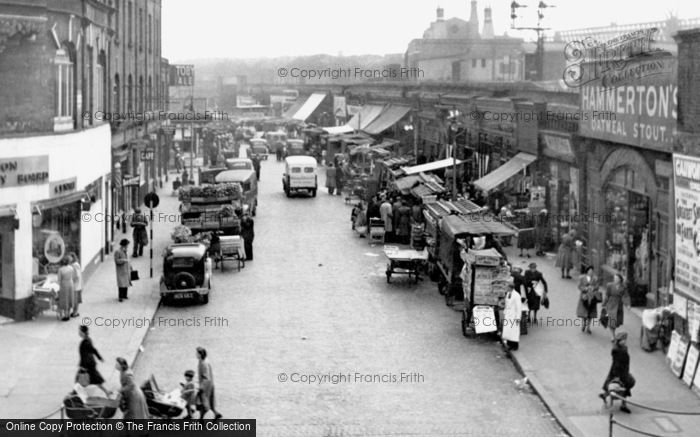 Brixton, Station Road Market 1952