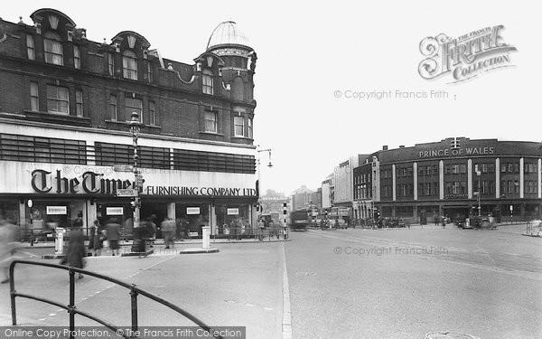Brixton, The Cross Roads c.1952