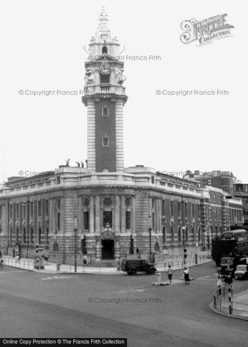 Brixton, Town Hall c.1955