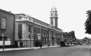 Brixton, Town Hall c.1960