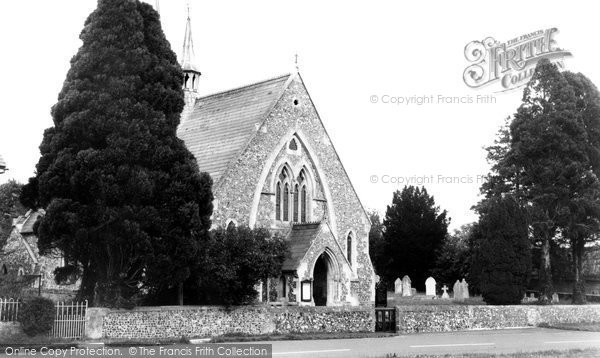 Broad Chalke, The Congregational Church c.1955