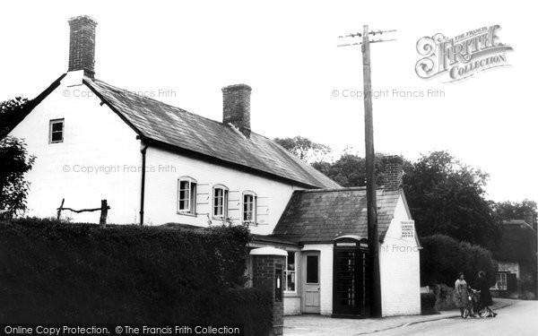 Broad Chalke, The Post Office c.1955