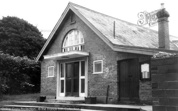 Broad Chalke, The Village Hall c.1955