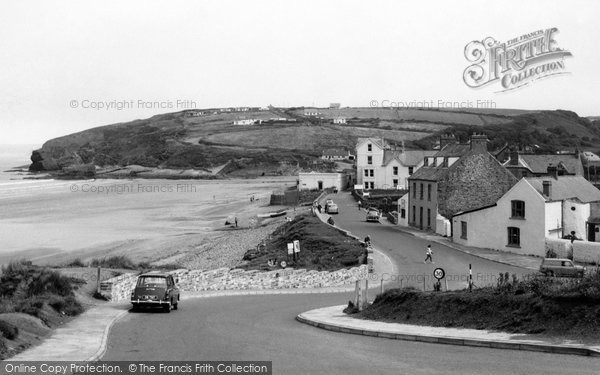 Broad Haven United Kingdom  City new picture : Broad Haven, The Front c.1965