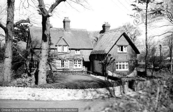 Broad Hinton, The Post Office c.1955